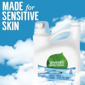 Natural Laundry Detergent made for sensitive skin