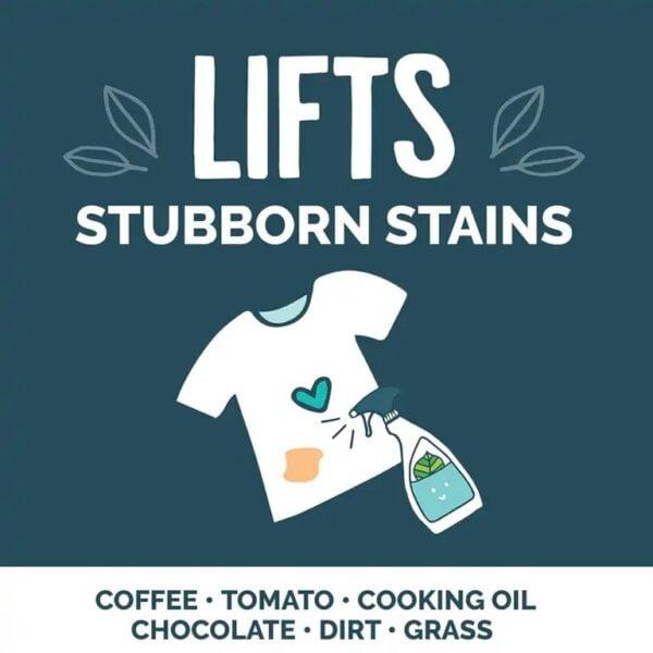 Lift stubborn stains