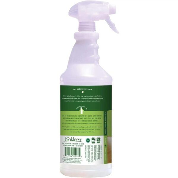 Biokleen - Floor Cleaner - Multi-Surface - back