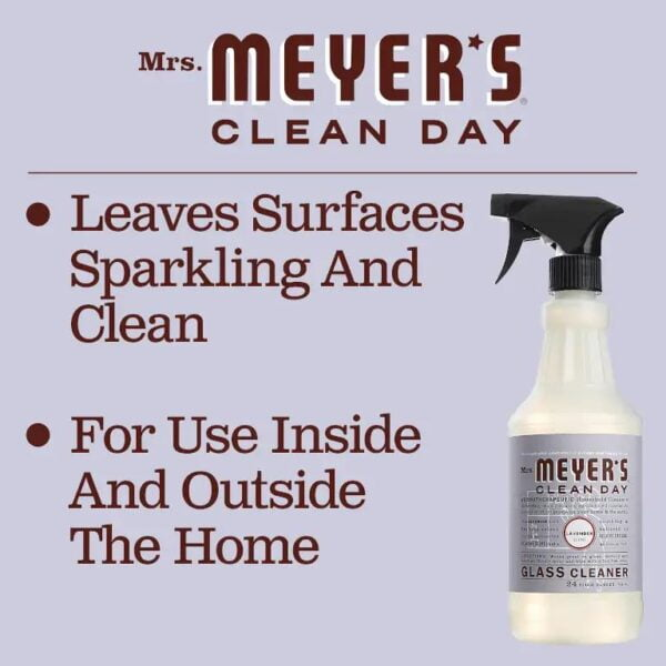 Mrs. Meyers Clean Day 1104 Glass Cleaner Lavender slide 3
