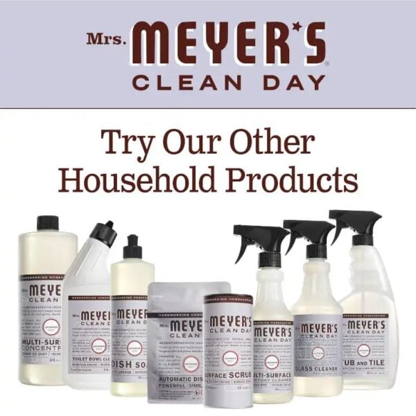 Mrs. Meyers Clean Day 1104 Glass Cleaner Lavender slide 4