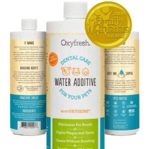 Oxyfresh Water Additive for Dogs and Cats
