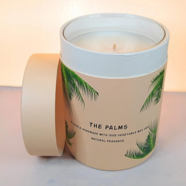 TPI - Handmade Scented Soy Wax Candle - open