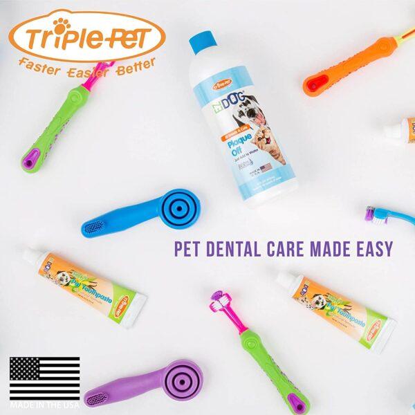 ezdog 1139 toothbrush vanilla toothpaste kit small breeds 1