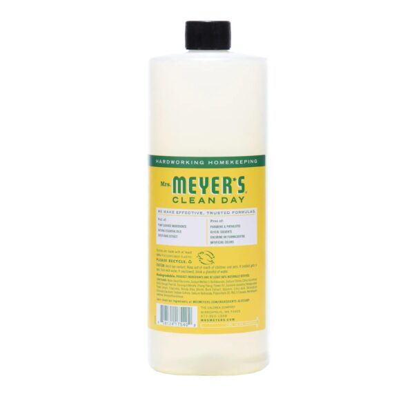 Mrs. Meyer's Clean Day - Multi Surface Concentrate - Honeysuckle - 32 fl oz - Back
