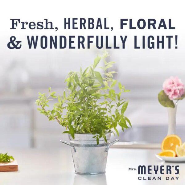 Fresh herbal and wonderfully light
