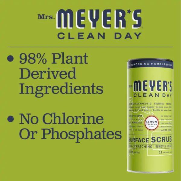 No chlorine or phosphates