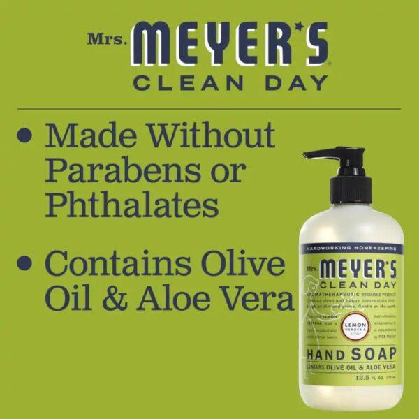 No parabens or phthalates