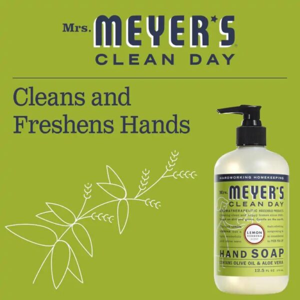 Cleans and freshens hands